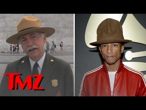 National Parks Head Talks Pharrell's Hat