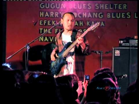video Live at blues 4 freedom navicula menghitung mundur
