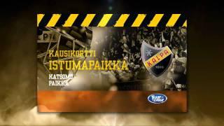 KalPan kausikortti- ja European Trophy -mainos