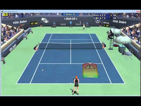 Online Tennis Elbow 2013(1) match - AO Quarter Finals (BlackyM vs. Serena Williams)