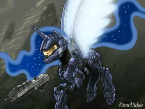 My little halo ponies picture