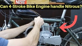 Will the 4-Stroke Bike Survive Nitrous Oxide?  Let's find out!