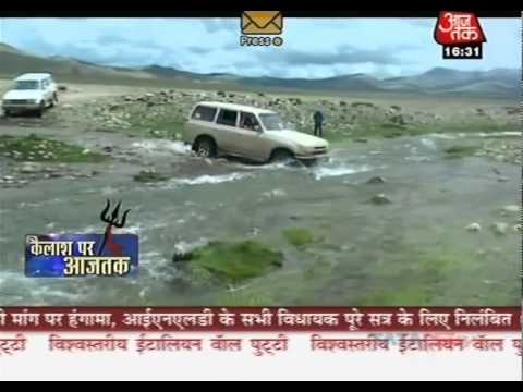 A Special Feature on Isha Kailash Sojourn 2010 by AAJTAK NEWS (Hindi)