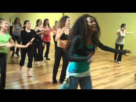 Brazilian Samba Dance Class 2011 with Samba Queen Maisa Duke