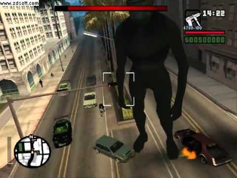 GTA San Andreas KING KONG!