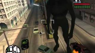 GTA San Andreas KING KONG !