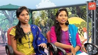 Telangana Folk Songs and Exclusive Interview Of Folk Singers Padmavathi and Mounika  Telanganam