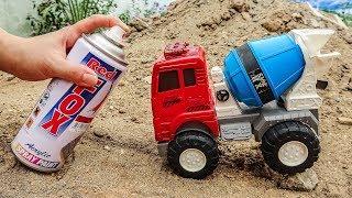 Thay đổi màu sắc cho những chiếc xe ô tô vui nhộn - đồ chơi trẻ em J33W Bé Cá