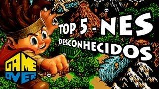5 Melhores Jogos de NES que Ninguém Jogou