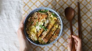 [ENG CC] 속을 가득 채우는 든든함, 가츠동 l 돈가스덮밥 : Katsudon I Pork Cutlet over Rice [아내의 식탁]