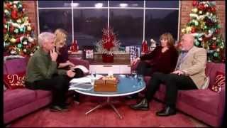 Phyllis Logan & Peter Egan (Downton Abbey) on ITV This Morning