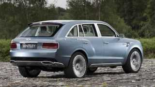 Bentley Hybrid SUV Concept Interiors and Exteriors