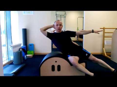 Упражнение Roll up Roll down - YouTube