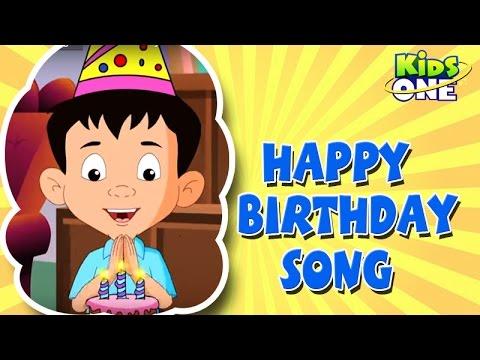 Happy Birthday ||  Nursery Rhymes  ||  English Animated Rhymes video
