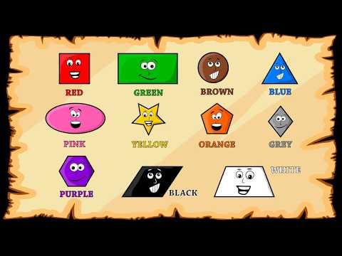 Nauka Kolorów Po Angielsku Dla Dzieci - Motywująca Animacja Na Wesoło