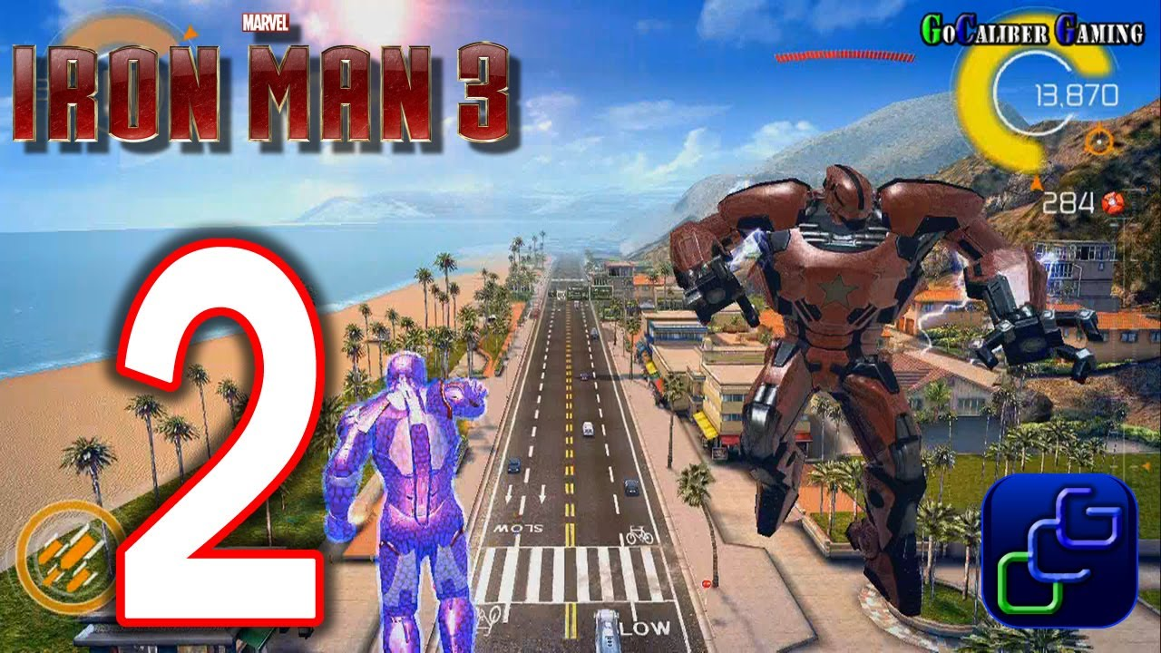 IRON MAN 3 The Official Game Android Walkthrough Part 2