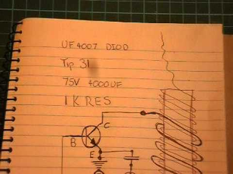 slayer exciter  Tesla coil A    wiring       diagram     YouTube