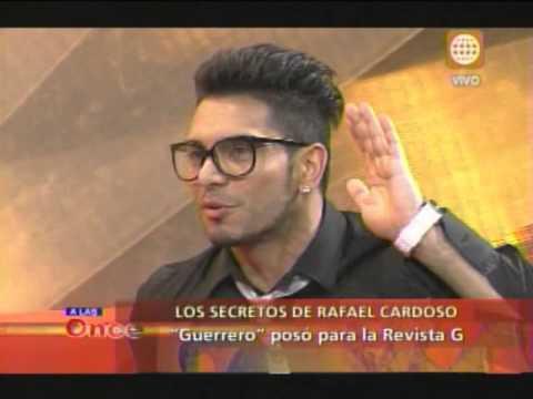 las Once- Los secretos del guerrero Rafael Cardoso- 19/08/13