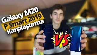 Galaxy M20 ve P Smart 2019 karşı karşıya - 2.000 TL altında hangisi daha iyi?