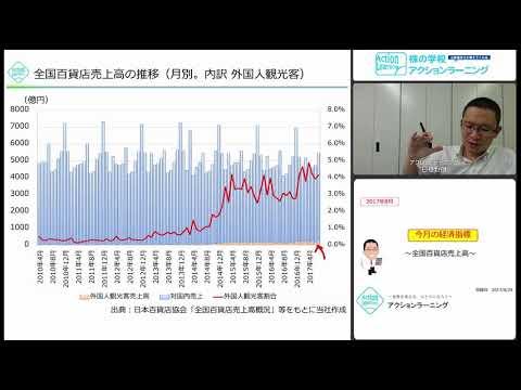 今月の経済指標39 ~全国百貨店売上高~ 2017年8月