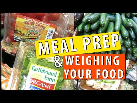 #MealPrepSunday| Sprouts, Flavor God Spices & Weighing my food