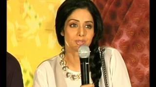 English Vinglish - Sridevi unveils ENGLISH VINGLISH first look Part 4