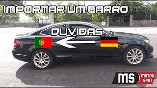 Carros & Cenas + GIVEAWAY DE NATAL - IMPORTAR um CARRO da ALEMANHA TUDO o que PRECISA SABER