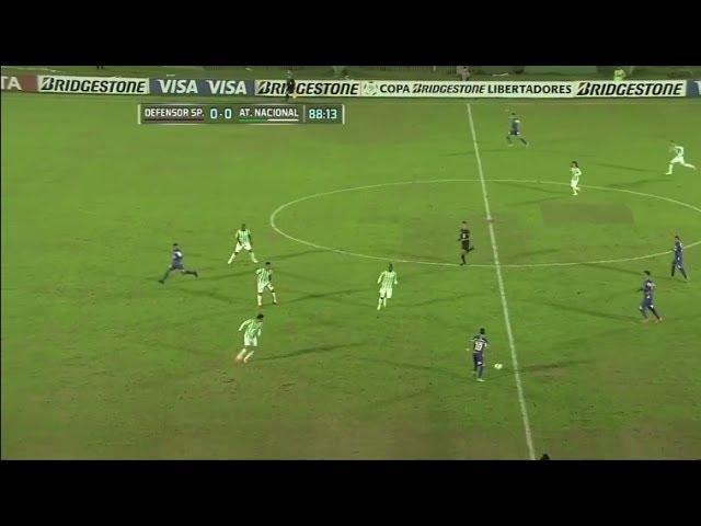 Defensor Sporting 1 - 0 Atlético Nacional Copa Libertadores 2014