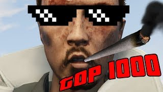 THE BEST OF GTA5 | TOP 1000 BEST MOMENTS OF GTAV VOL. 1