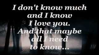 Don 39 T Know Much Linda Ronstadt Aaron Neville