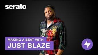 Just Blaze | Making a Beat in Serato Studio