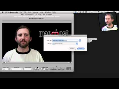 Compressing Video With MPEG Streamclip (MacMost Now 571)