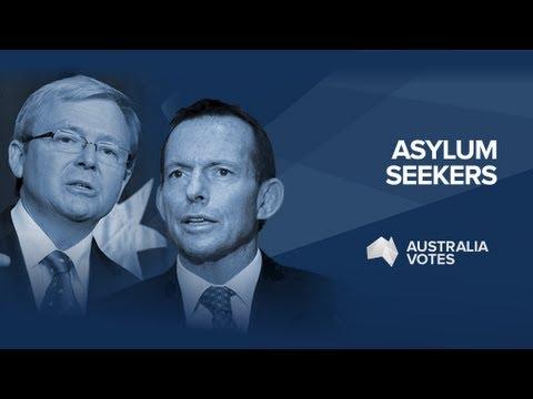 Leaders Debate: Asylum seekers