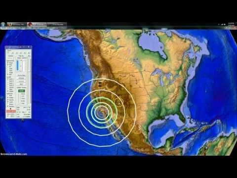 3/29/2014 -- 5.4M earthquake strikes Los Angeles -- VOLCANIC movement beforehand