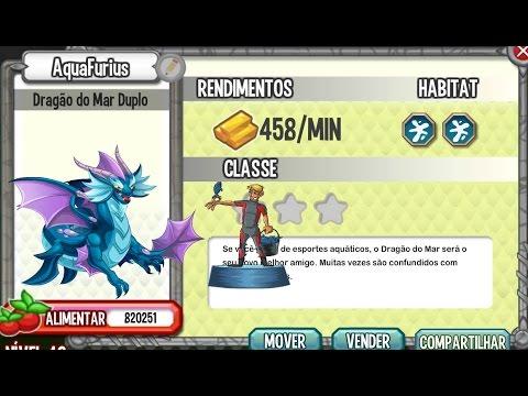 Dragon City Dragão Puro Dragon City Dragão Mar