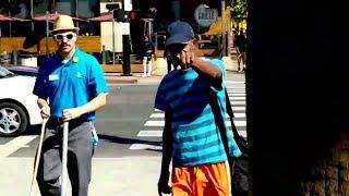 Cops Show Up After Homeless Man Attacks Hampton Brandon