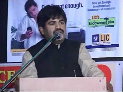 Nizamuddin Rayeens Speech at  All India Mushaira 2011 Part 12...