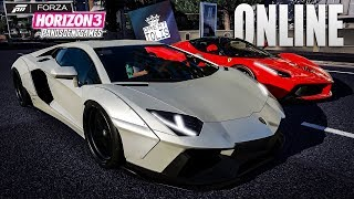 FERRARI VS LAMBORGHINI BATTLE ft The Great Tolis | Forza Horizon 3 Special