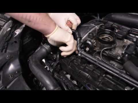 Oil Change on Volkswagen GTI MK6