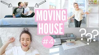 MOVING IN TO OUR NEW HOUSE | Moving Vlog 4