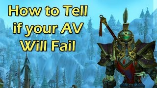 How to Tell if Your Alterac Valley Will Fail by Wowcrendor (WoW Machinima)