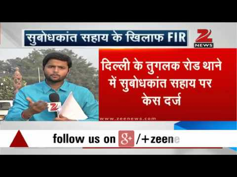 FIR lodged against former Tourism Minister Subodh Kant Sahay