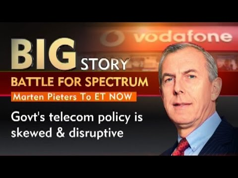 Battle For Spectrum: Highlights Of Vodafone India CEO Marten Pieters Interview