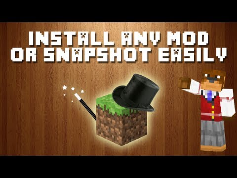 Minecraft MagicLauncher - Install Mods & Any Jar Quick And Easy ! ! !