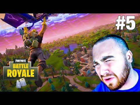 LosPollosTv Hilariously FAILS To Get Fortnite Solo Win - Battle Royale #5 thumbnail