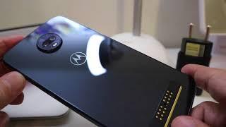 Moto Z3 Play: Abrindo a caixa do novo Motorola