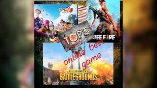 Top 5 best online interesting games....