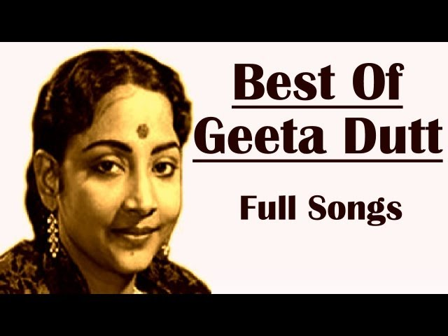 Best Of Geeta Dutt | The Legendary Playback Singer | Geeta Dutt Songs | Old Hindi Songs