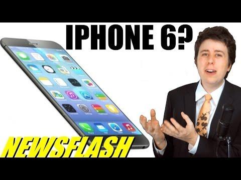 iPhone 6 Leaked Photos!! - NEWSFLASH