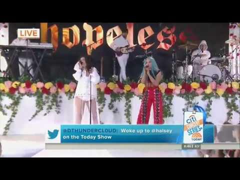 Halsey ft. Lauren Jauregui - Strangers (Live on Today Show)